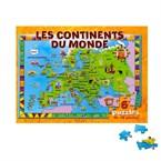 Les continents du monde