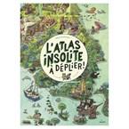 L'atlas insolite à déplier