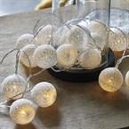 Guirlande lumineuse boules de nacre