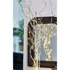 Bouquet de lumière argentée