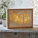 Lampe 3D en papier