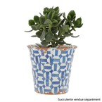 Pot Terracotta bleu