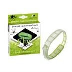 Bracelet anti-moustiques vert fluo