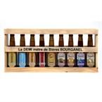 Demi-mètre de bières Bourganel