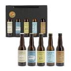 Coffret de 5 bières artisanales bio