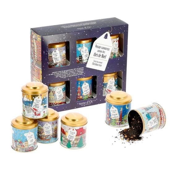 Coffret 6 thés de Noël d'Europe bio