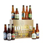 Coffret 10 bières artisanales bio