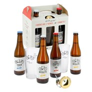 Coffret 4 bières Drink-Drink sonette