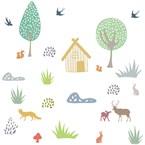 Stickers animaux de la forêt