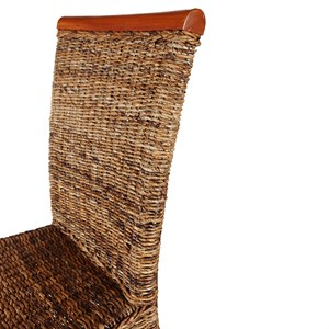 Lot De 6 Chaises Malibu En Abaca