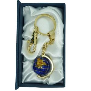 4b50344cc46a Porte clés globe bleu navy   Nature   Découvertes