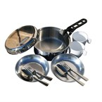 Popote inox scout cao 2 personnes