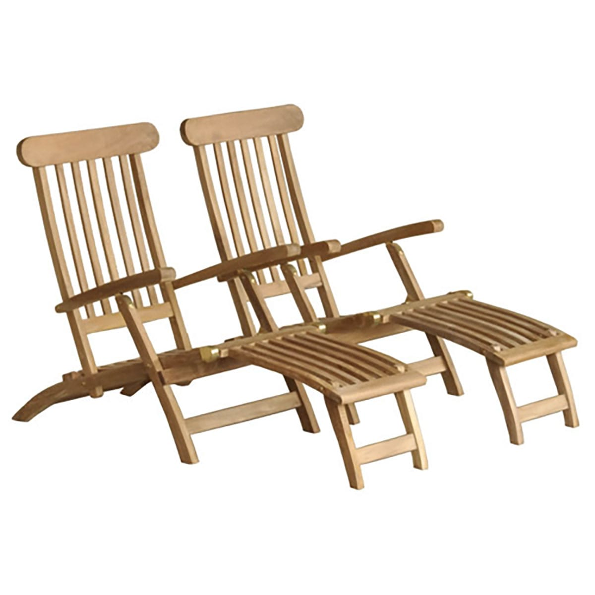 TNatureamp; En Steamers Longues Découvertes 2 De Lot Chaises y0nvm8wON