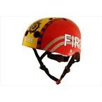 Casque vélo enfant pompier medium