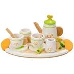 Dinette service à thé bois hape