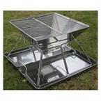 Barbecue bbq portable acier inox