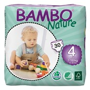 Couches bambo nature 7/18 kg