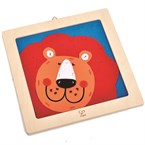 Laughing lion embroidery kit by hape kit
