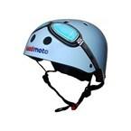 Casque vélo et trottinette blue gogg...