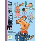 Jeu cartes 5-99y happy family djeco
