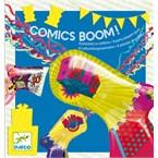 Jeu anniversaire 4-8y comics boom djeco