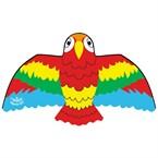 Grand cerf volant perroquet