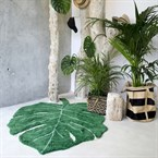Tapis 120x160cm monstera leaf lorena can
