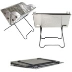 Barbecue pliable uco mini flatpack grill