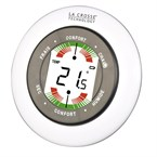 Thermomètre - hygromètre blanc wt138 la