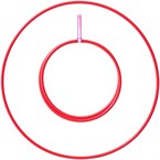 Hula hoop 20mm rouge