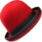 Chapeau de jongle tumbler rouge/liseret