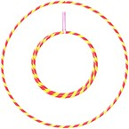 Hula hoop 1m - 20mm pliable - rouge et j