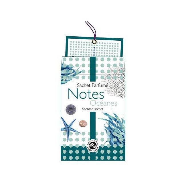 OcéanesNatureamp; Notes Sachet Sachet Parfumé Parfumé Découvertes UpqMSzV