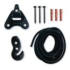Universal rope black - fixation multi...
