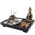 Jardin zen bouddha
