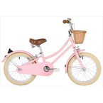 Vélo enfant gingersnap 16' rose -bobbin