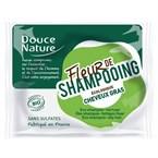 Fleur de shampoing cheveux gras