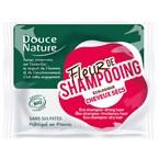 Fleur de shampoing cheveux secs