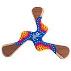 Boomerang peint à la main kadina 17