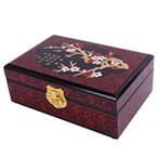 Boite a bijoux-motif fleurs de cerisier