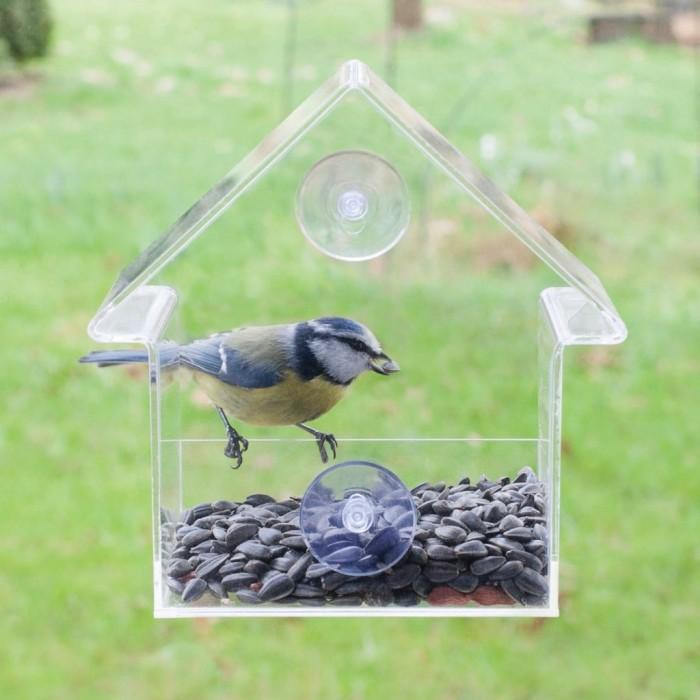 Futterhaus Futterstation Vogelstation; Riesenrad für Wildvögel