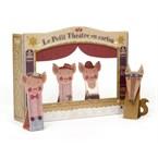 Théâtre et marionnettes en carton