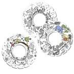 Myroodi - lot de 3 frisbees