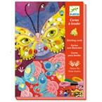 Cartes à broder 7-13y élégant carnaval d