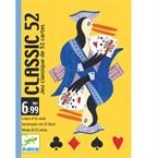 Jeu cartes 6-99y classic 52 djeco