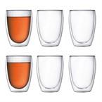 Bodum - set 6 verres double paroi 35 cl