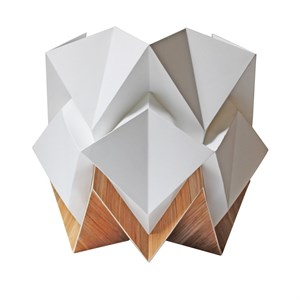 Lampe De Table Origami Design Bananier Nature Decouvertes