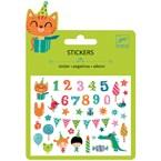 Mini stickers by djeco anniversaire