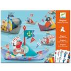 Origami 6-11y bateaux sur l'eau djeco