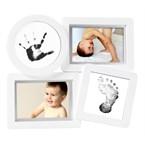 Cadre montage babyprints blanc